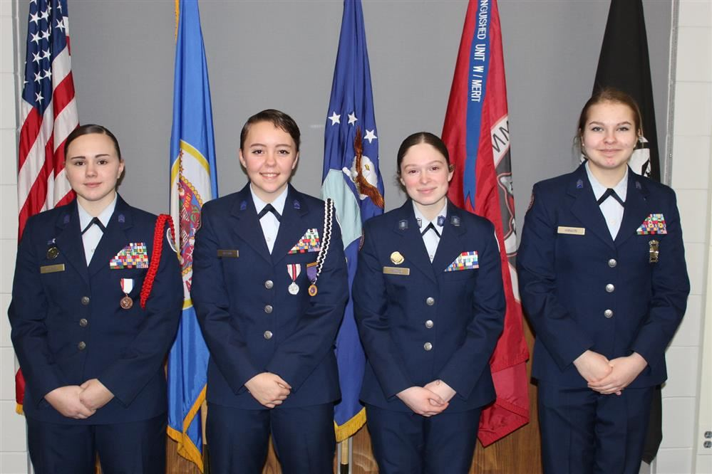 NBAHS Air Force Junior ROTC heading to National Drill Meet