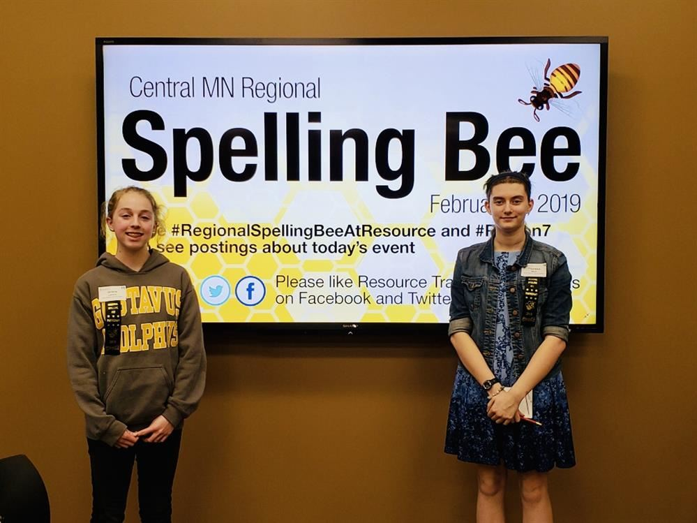 NBAPS spelling bee participants