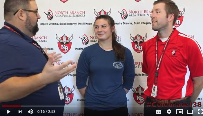 Kicker Emma Mohs talks football!